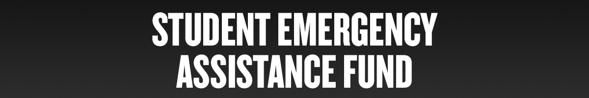 Student Emergency Assistance Fund Header